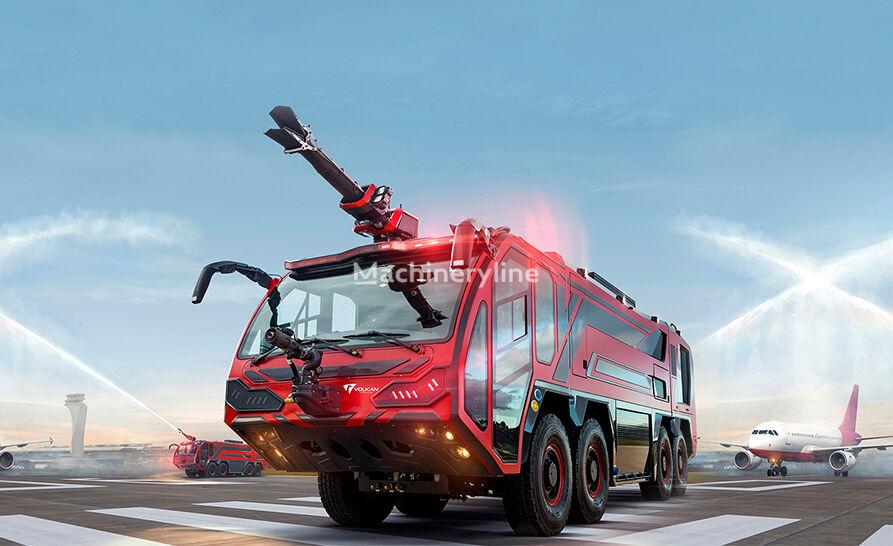новая пожарная машина Volkan Lion 8Х8 для аэропортов