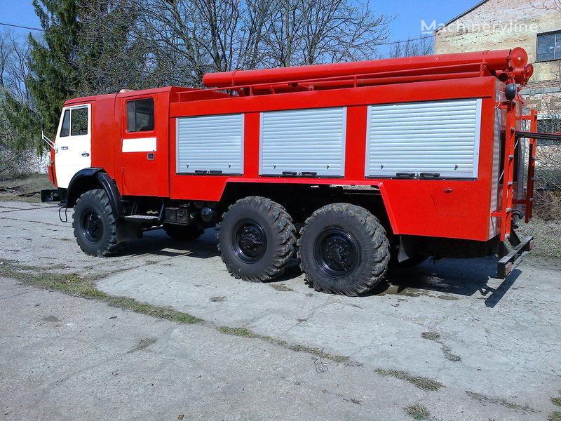 новая пожарная машина КАМАЗ ац-40