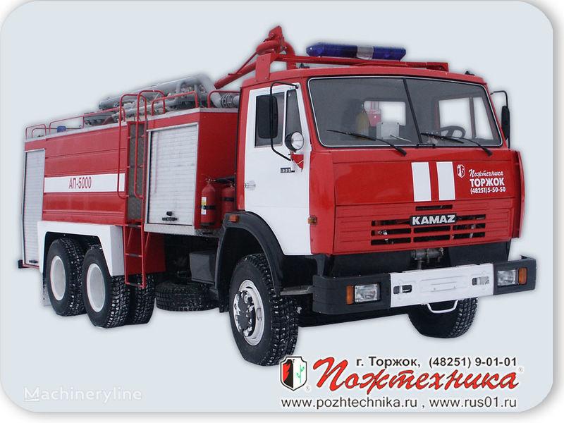 новая пожарная машина КАМАЗ АП-5000 Автомобиль порошкового тушения