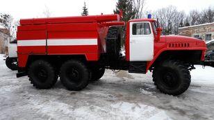 новая пожарная машина УРАЛ 4320