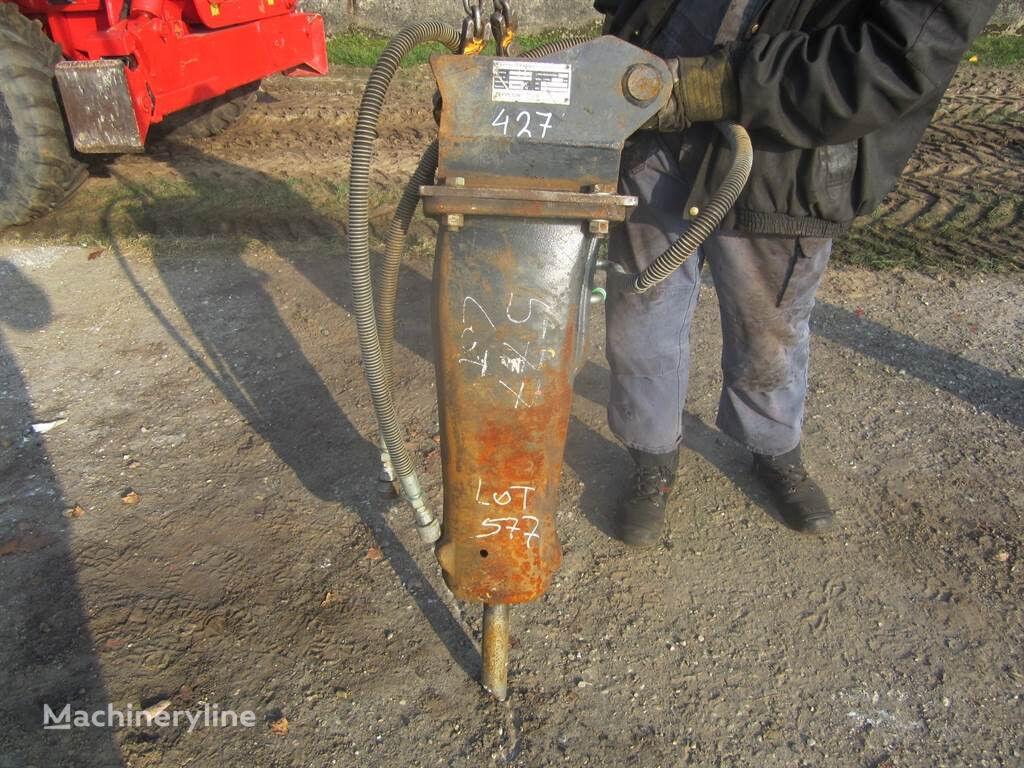 гидромолот ZEPPELIN MS03 - Hydraulic hammer/Hydraulikhämmer/Sloophamer