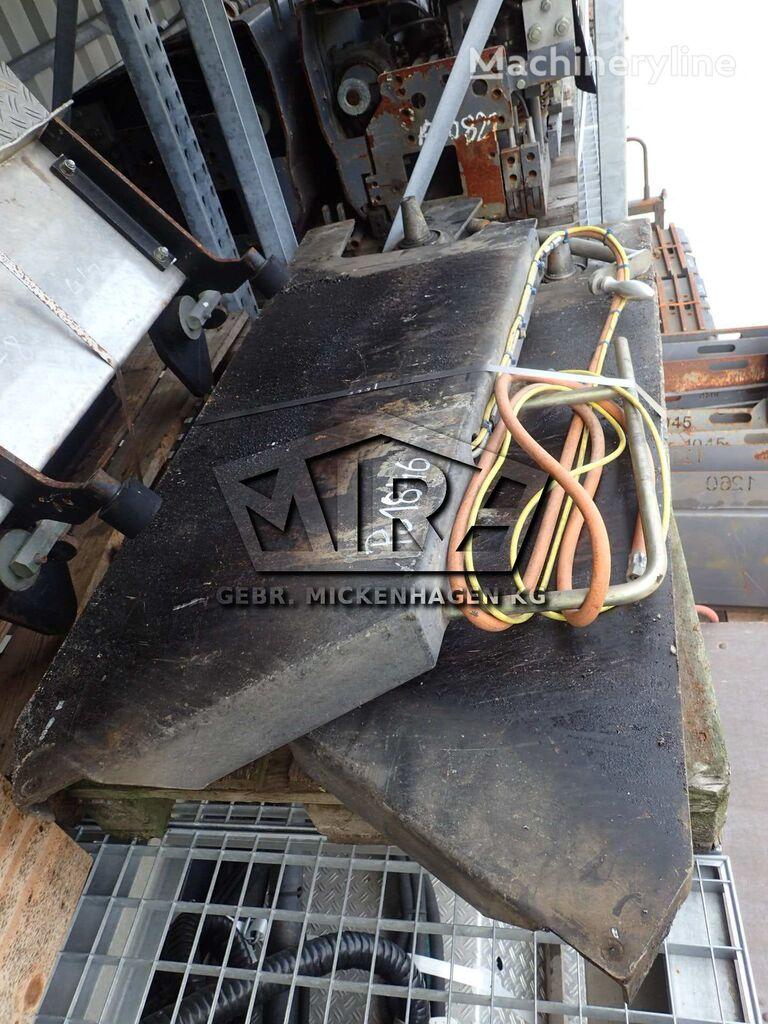 запчасти side blades для асфальтоукладчика DYNAPAC F6C or DEMAG DF 65C
